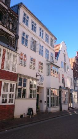 einzigartig - Das kleine Hotel im Wasserviertel: Außenansicht
