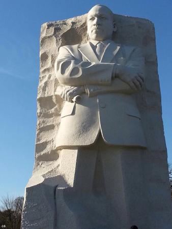 Martin Luther King, Jr. Memorial: Great man.
