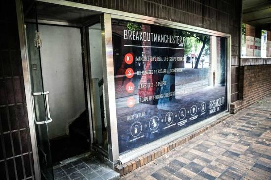 Breakout Manchester Outside