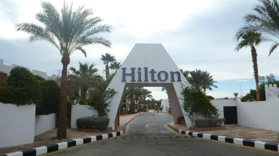Hilton Sharm El Sheikh Fayrouz Resort : Новая эмблема въезда в отель