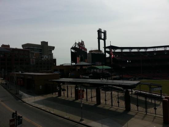 Cardinals Nation: Clark Street between Ballpark Village and Busch Stadium
