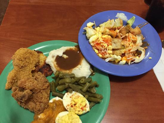 """Bedford, IN Golden Corral """"All You Care To Eat""""  If you leave hungry, it's not their fault!"""