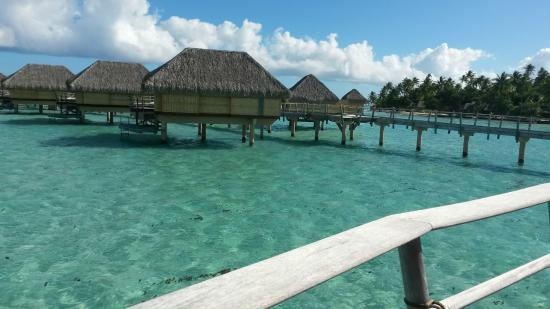 Le Taha'a Island Resort & Spa : Bangalôs