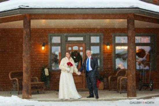 The Fern Lodge: Just married!