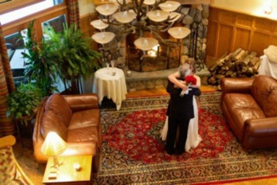 The Fern Lodge: Bob and Kathy get married in front of the fireplace