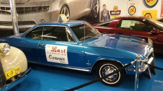 Chevrolet Hall of Fame Museum: Last corvair built
