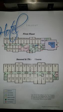Holiday Inn Express & Suites St Marys: Hotel Layout