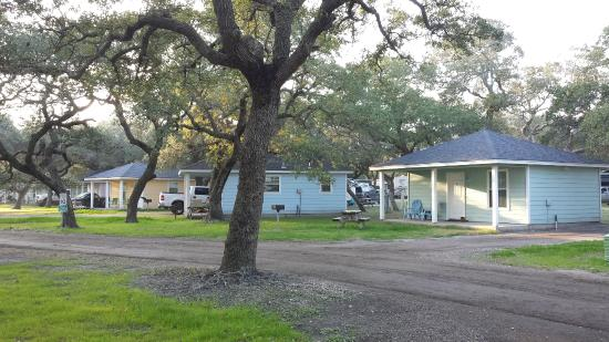 Rockport, TX: Some of the cabins