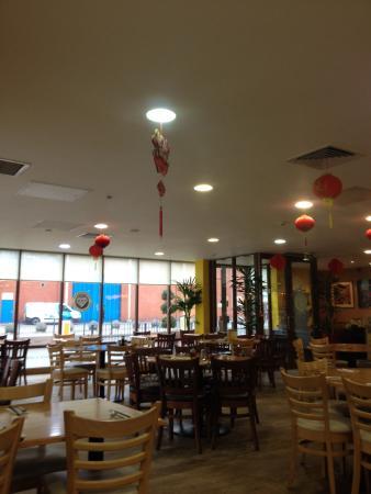 Cafe Soya: Inside, around 3.30pm Monday!