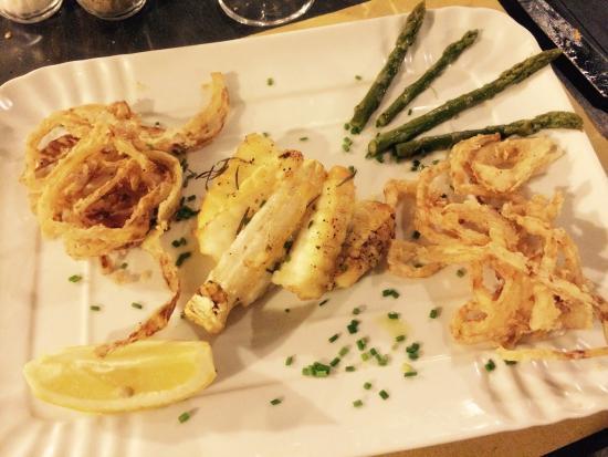 ... cipolle fritte - Foto di Ristorante Tuga, Bagno a Ripoli - TripAdvisor