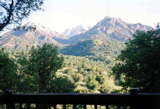 Residence Bellevue Guesthouse: mountain view