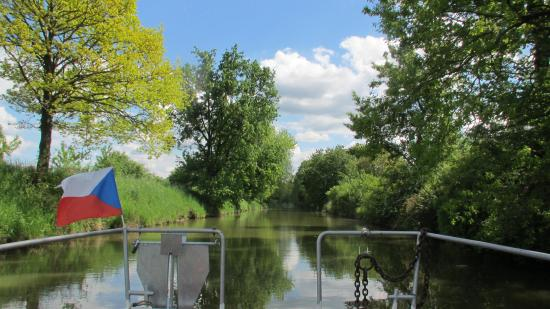Veseli nad Moravou, สาธารณรัฐเช็ก: Baťův kanál