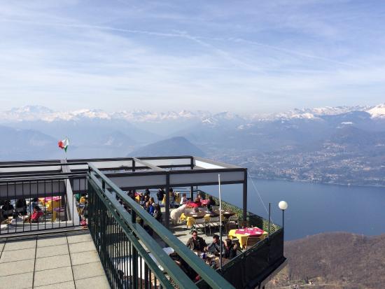 Terrazza - Picture of Funivie del Lago Maggiore, Laveno-Mombello ...