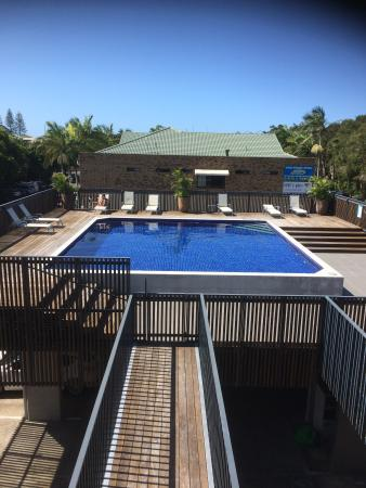 Byron Bay Penthouse Apartments: Poolside