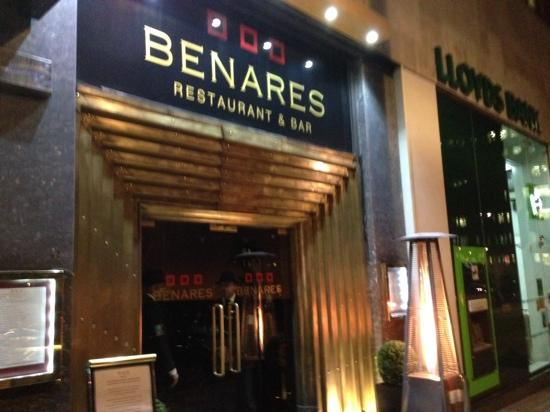 Benares Restaurant Bar London England