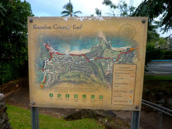 Kapalua Coastal Trail: Trail description