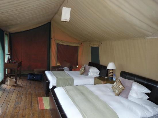 Lemala Ndutu Tented Camp: Tent interior