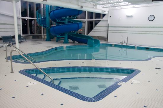 """St Albert Inn and Suites: """"Enjoy our salt water Whirlpool open daily at 6:00AM"""""""