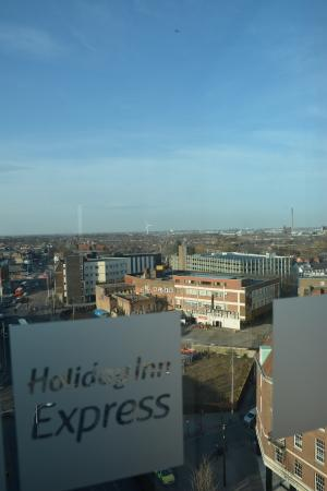 Holiday Inn  Express Hull City Centre: Great views from the 7th floor