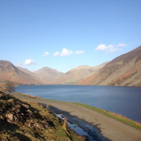 Strands Inn & Brewery : this is the lake 30 mins walk from your guest house britains favourite view