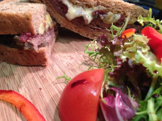 Chicken Caesar Salad - Picture of The Golden Fleece, Tremadog - Tripadvisor