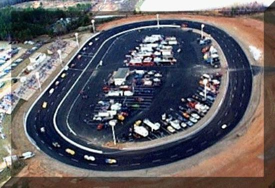 View of the Watermelon Capital Speedway