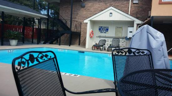 Comfort Suites Lexington : POOLSIDE
