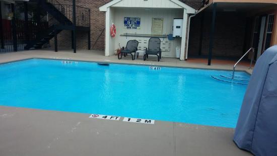 Comfort Suites Lexington : Poolside 2