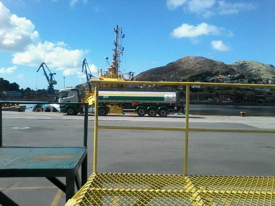Hotel Prata: porto de Vitória próximo ao hotel