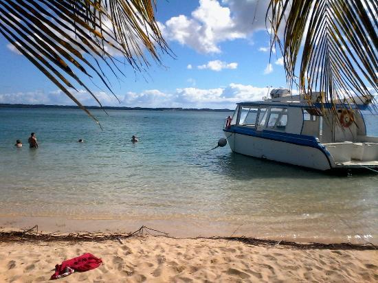 Petit-Canal, Guadalupe: journée détente sur la plage de pointe sable