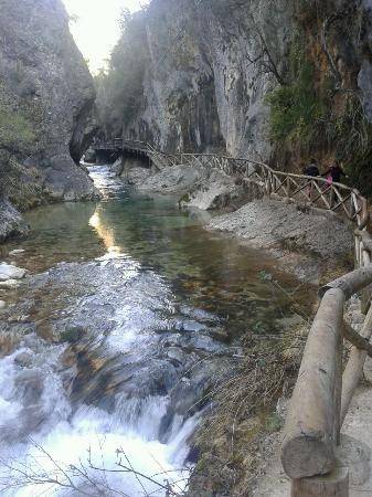 Cazorla, Spanien: la pasarela