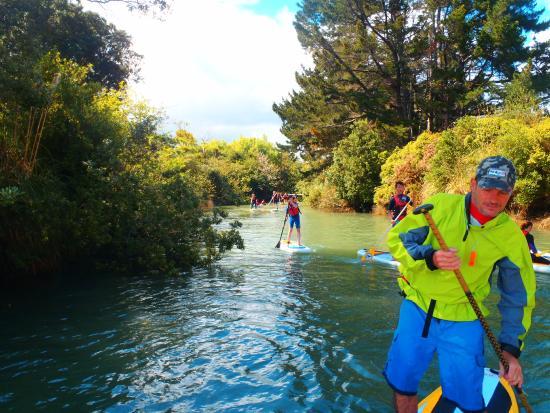 Raglan Paddleboarding: Around the inner harbour