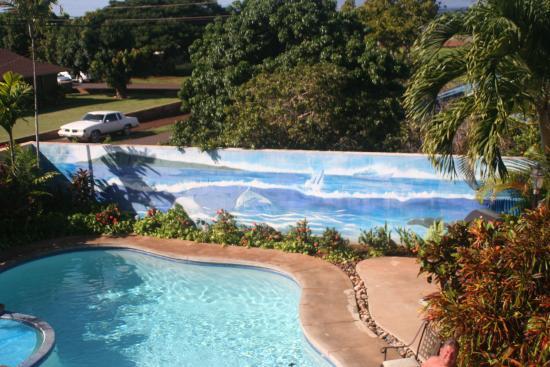 Wai Ola Vacation Paradise : Pool Area