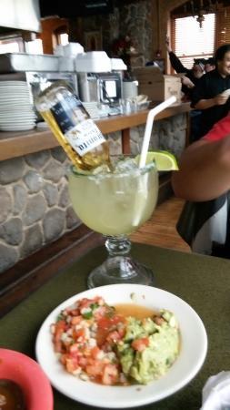 La Quinta De Los Reyes : Food and margarita