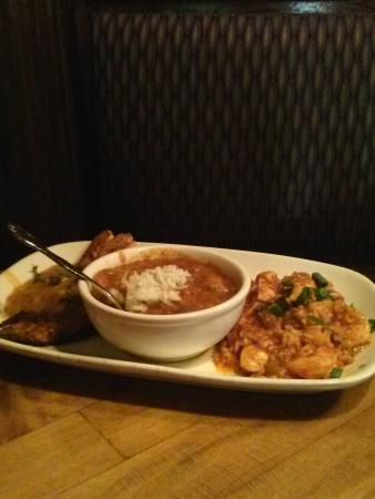 Harry's Seafood Bar and Grille: jambalaya, gumbo & fish