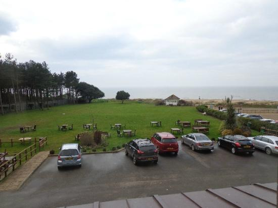 Best Western Old Hunstanton Le Strange Arms Hotel: Sea view?