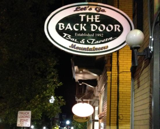 ‪The Back Door‬