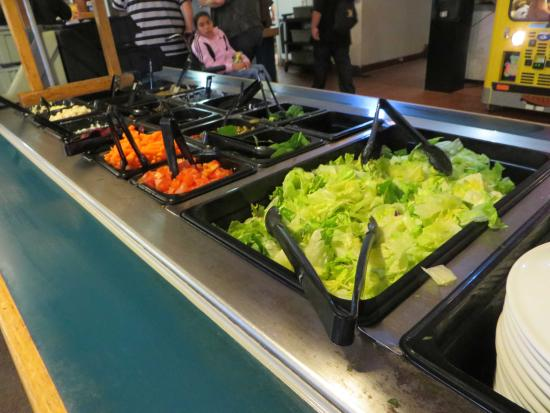 Nice Salad Bar Picture Of Round Table, Round Table Salad Bar