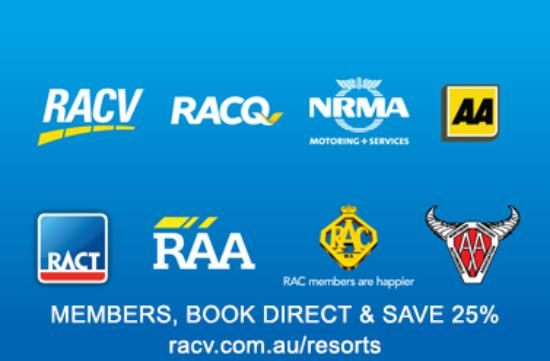 RACV/RACT Hobart Apartment Hotel: AutoClub Members Save 25% when booking direct!