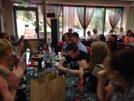 Zayka Food Bar : Happy customers