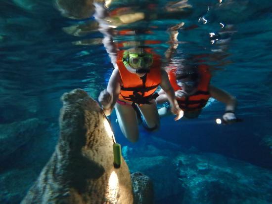 Playa del Carmen, Mexique : Cenote!