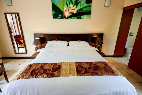 Chambre Tropicale Tropical Room Picture Of Hotel Kou Bugny Ile
