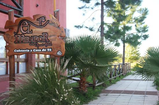 El Mirador Apart Hotel: Cafetería Casa de Té