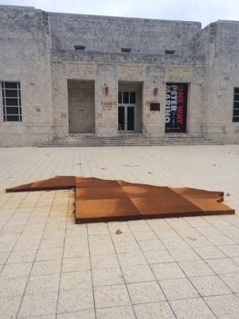Bass Museum of Art : I love to see the province where I was born right in the entrance of this beautiful museum. I lo