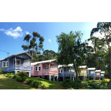 Hyams Beach Seaside Cottages: The adorable cottages