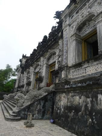 Thua Thien - Hue, Vietnam: Outside of tomb