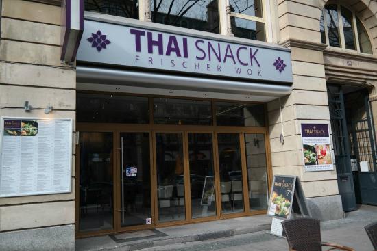 Thai Snack Frischer Wok