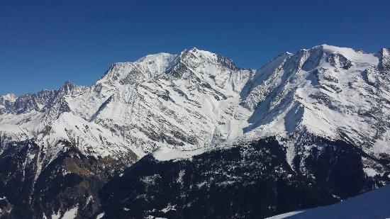Mont d'Arbois Ski Area: Mont Blanc