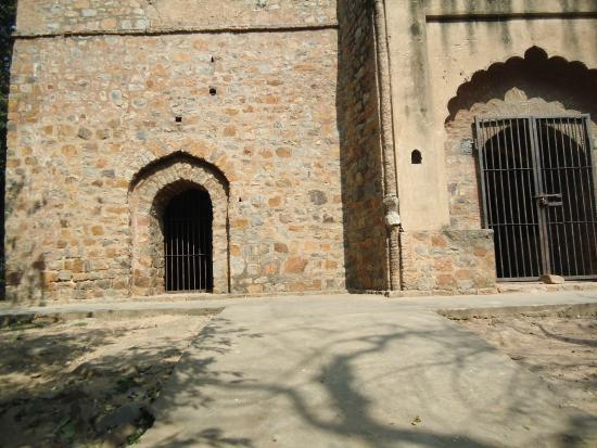 Firoz Shahs Mosque With His Hunting Lodge