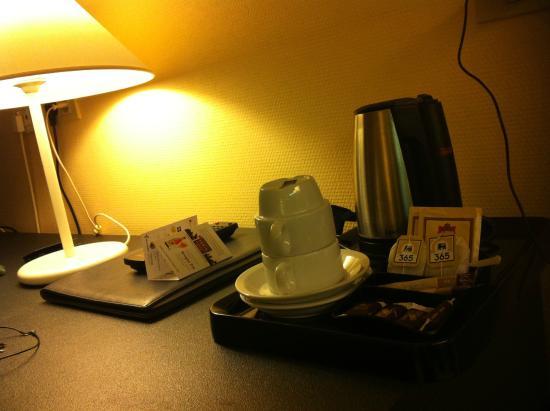 Rosenburg Hotel: particolare della camera